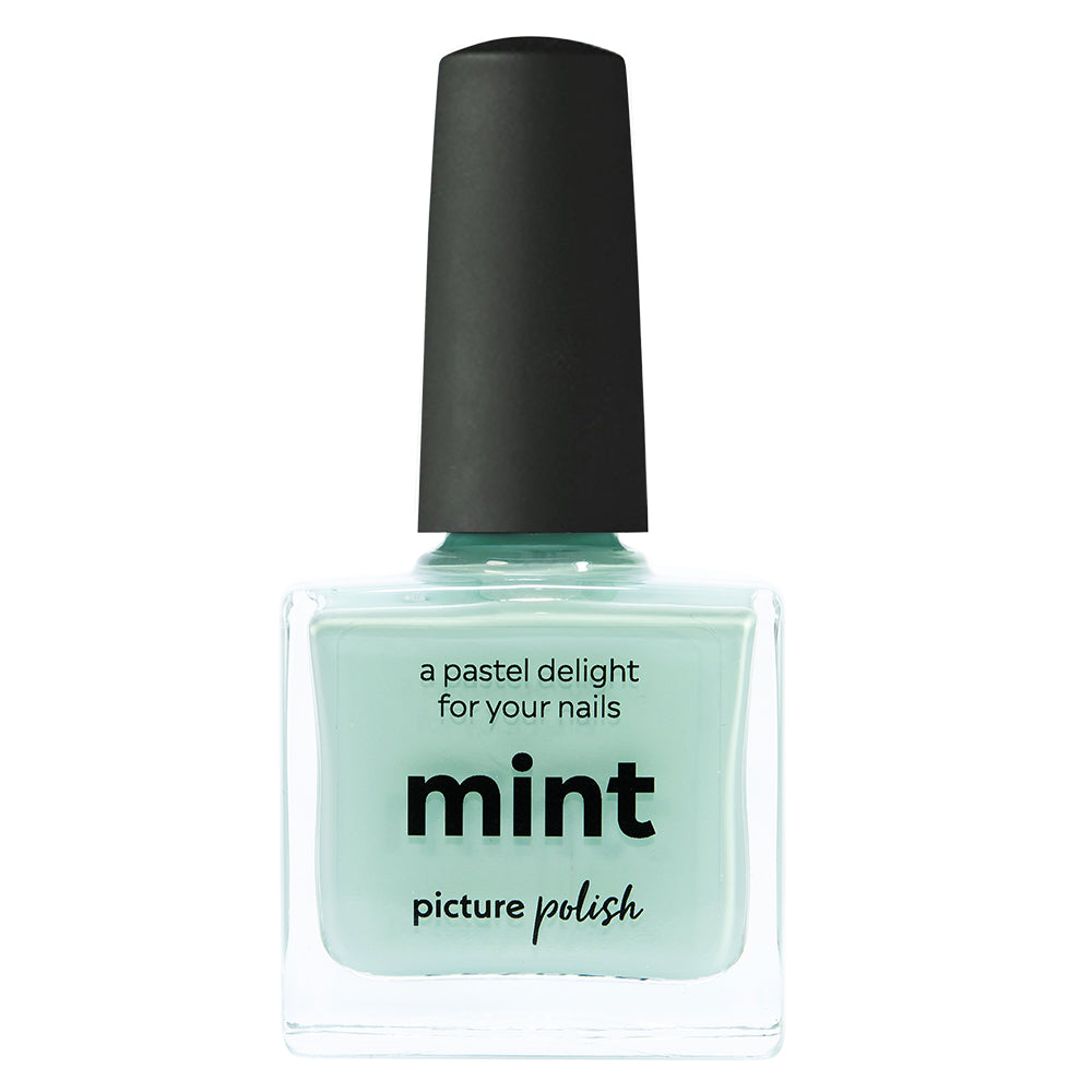 Picture Polish Mint pastel green creme nail polish