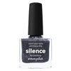 Picture Polish Silence dark grey holographic nail polish