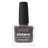 Picture Polish Sisters grey brown taupe jelly scatter holographic nail polish