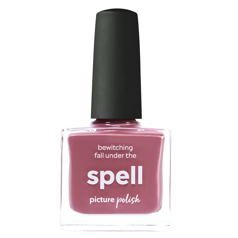 Picture Polish Spell dusty pink creme nail polish