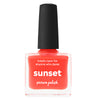 Picture Polish Sunset neon coral creme nail polish