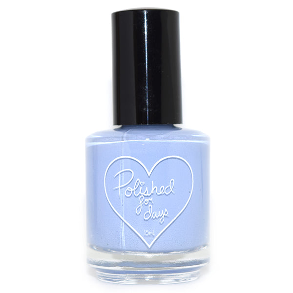 Polished for Days Periwinkle nail polish