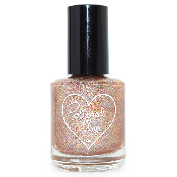 Polished for Days Rosewood nail polish Enchanted Garden Collection