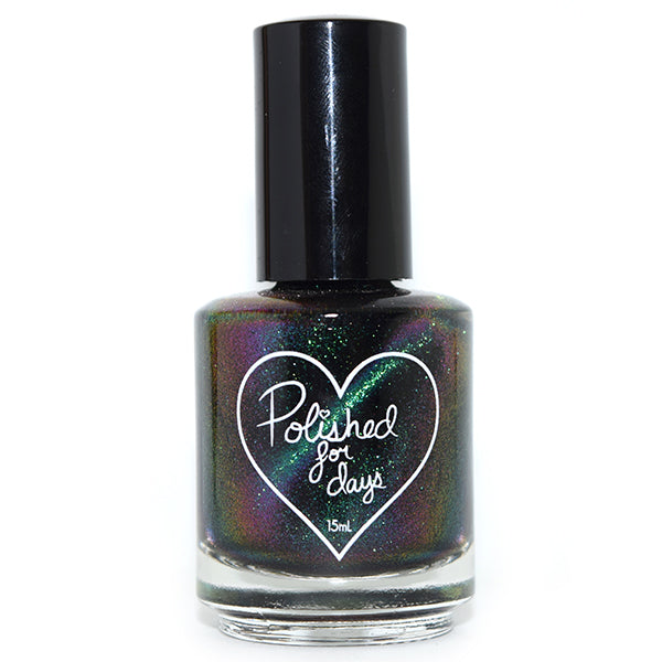 Polished for Days Tinsel magnetic nail polish topper