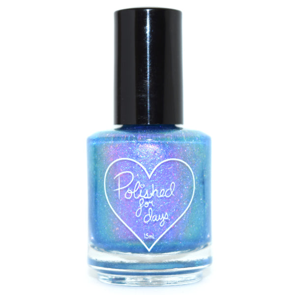Polished for Days A Dream Is A Wish shimmer nail polish Imagination Collection