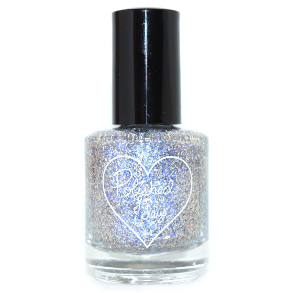 Polished for Days Frozen Heart nail polish topper Imagination Collection