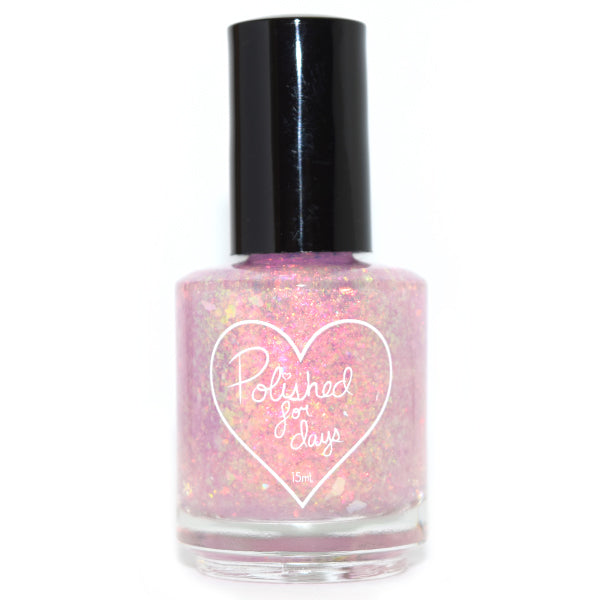 Polished for Days Icebow iridescent flakie nail polish topper