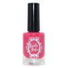 Powder Perfect Profound Promise hot pink crelly nail polish