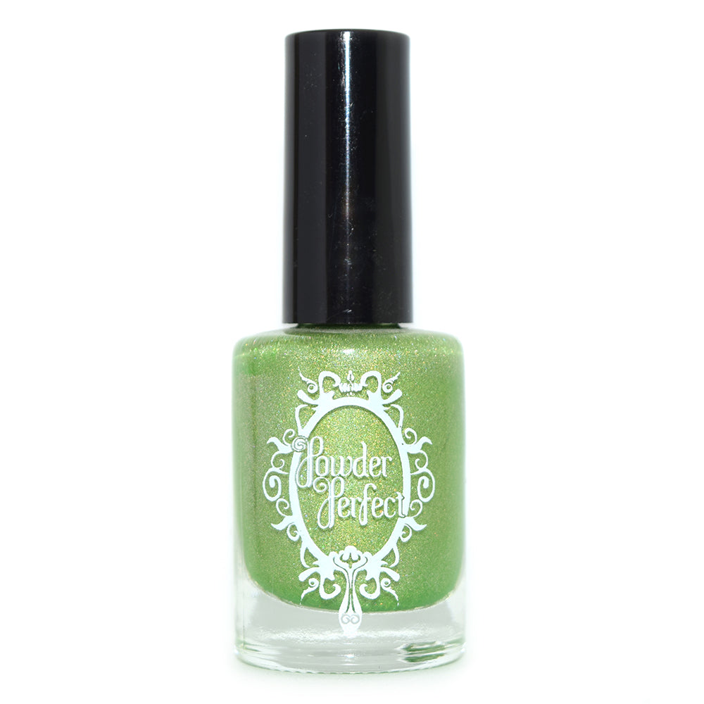 Powder Perfect Magic of Imagination green holographic nail polish