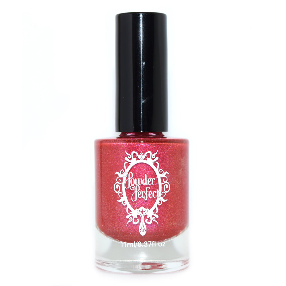Powder Perfect Thinking of You magenta shimmer nail polish