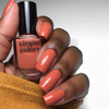 Cirque Colors Arabesque dusty orange creme nail polish swatch