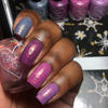 Polished for Days Icebow iridescent flakie topper nail polish