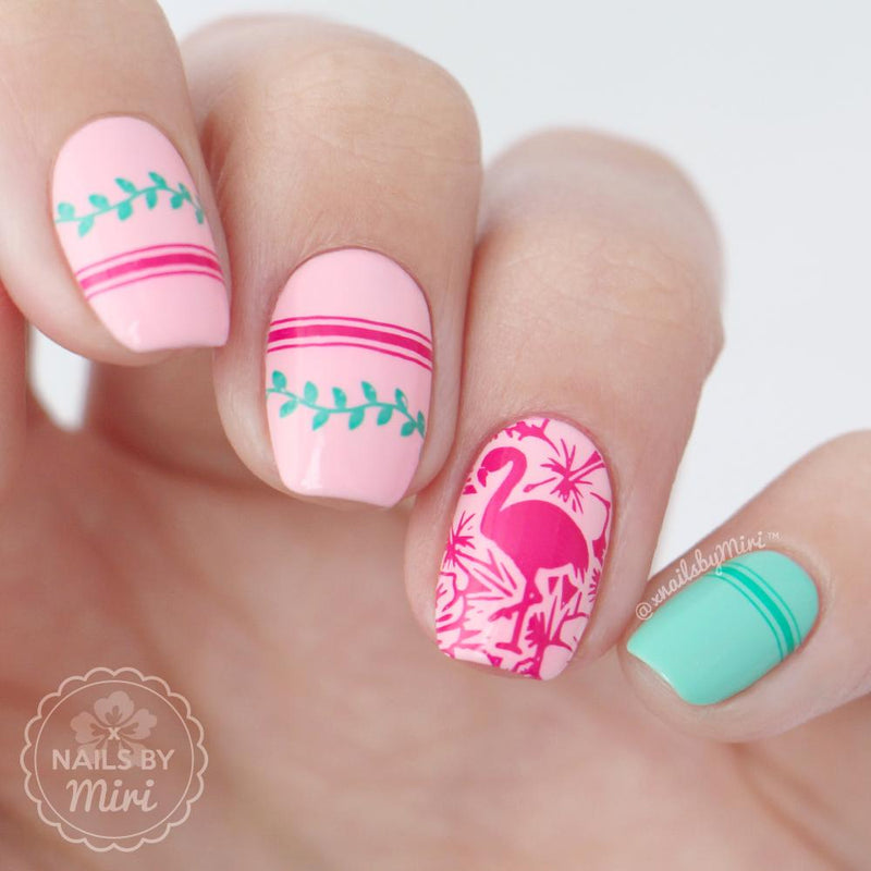 Artist Collab x Nails by Miri Stamping Plate