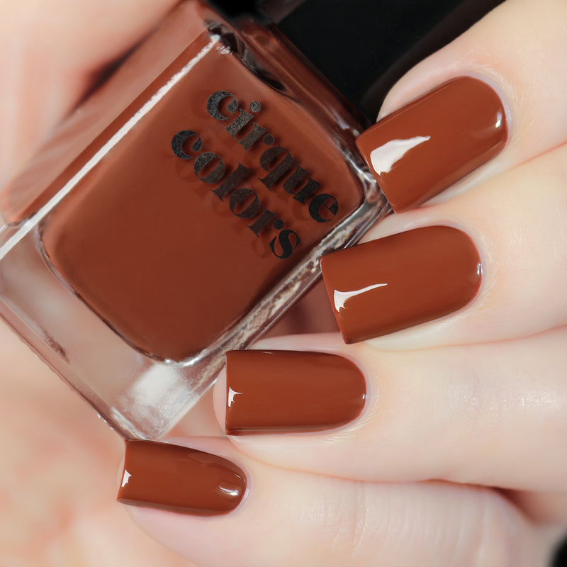 Cirque Colors Brownstone nail polish Terracotta Collection