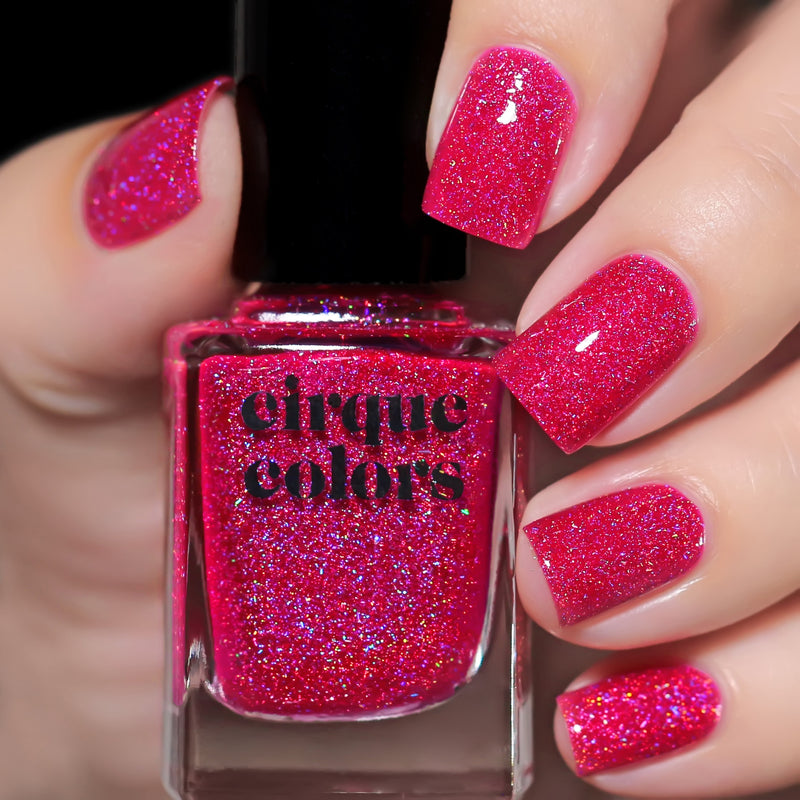 Cirque Colors Tourmaline holographic nail polish Facets 2019 Collection