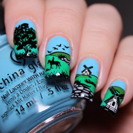 Blogger Collab x Beaching Nails Stamping Plate
