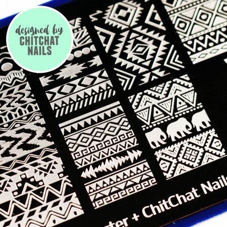 Blogger Collab x Chit Chat Nails Stamping Plate