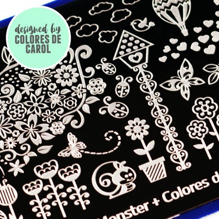 Blogger Collab x Colores de Carol Stamping Plate