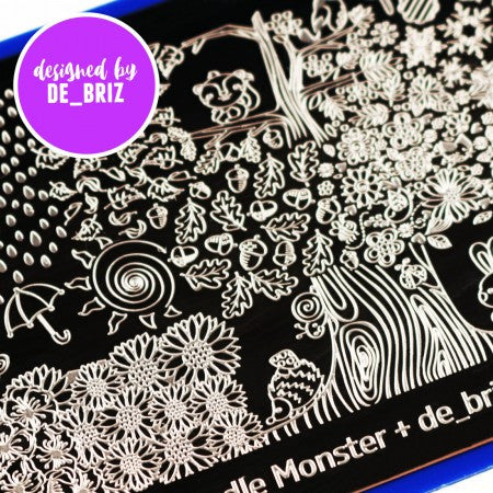 Blogger Collab x de_briz Stamping Plate