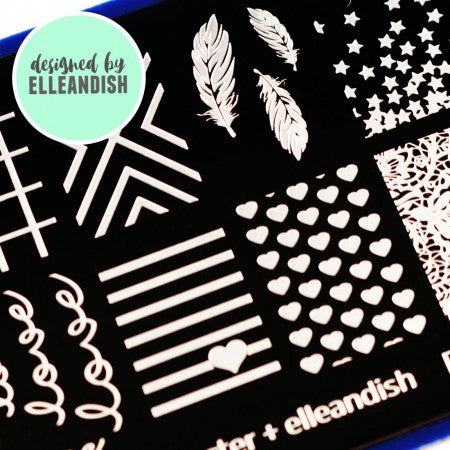 Blogger Collab x elleandish Stamping Plate