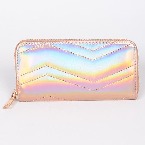 Quilted Holographic Wallet