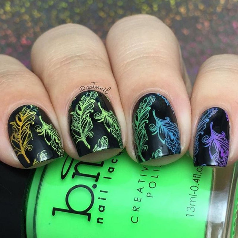 Festival Stamping Plate - Hippie Chic