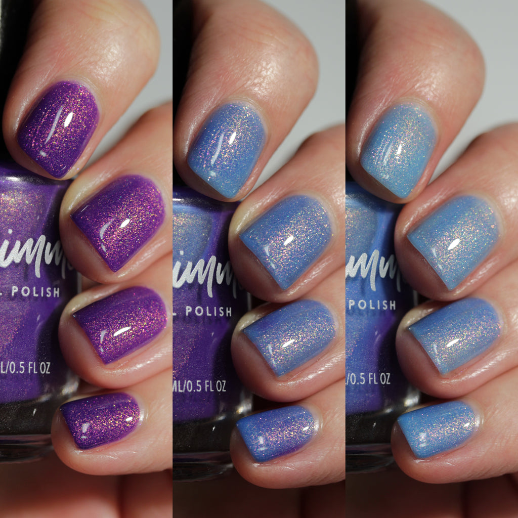 KBShimmer Grow With The Flow tri-thermal nail polish Sun's Out Collection