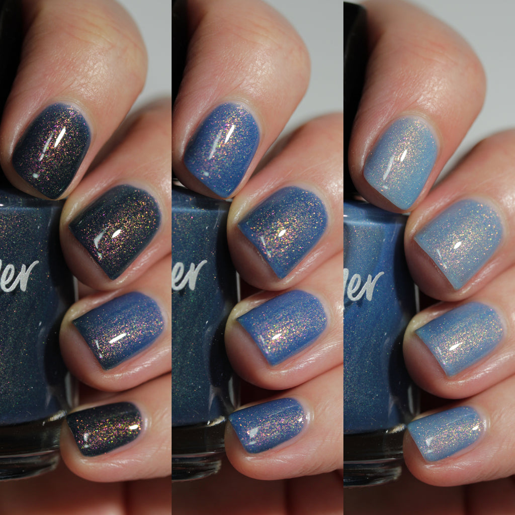 KBShimmer Pool Shark tri-thermal nail polish Sun's Out Collection