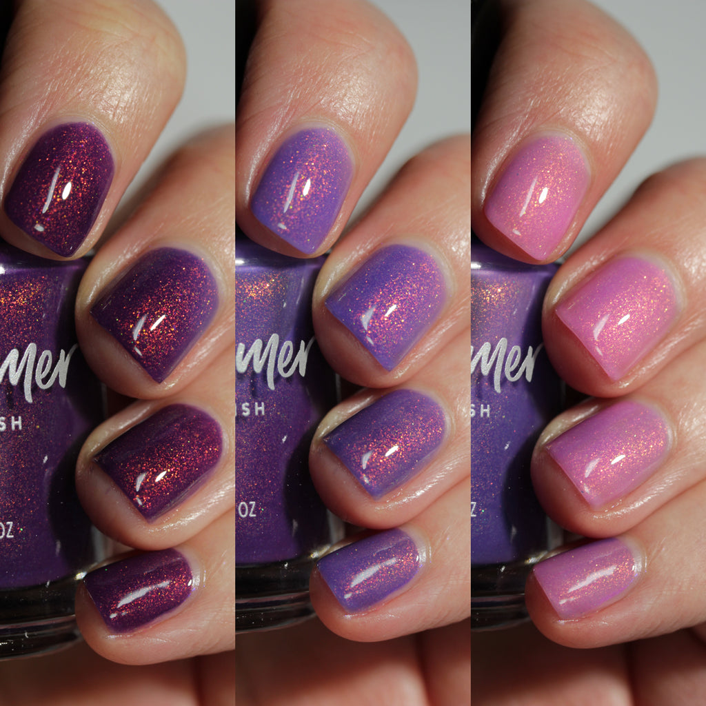 KBShimmer Reel Good Time tri-thermal nail polish Sun's Out Collection