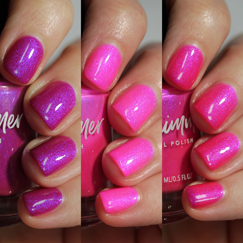 KBShimmer Slay La Vie tri-thermal nail polish Sun's Out Collection