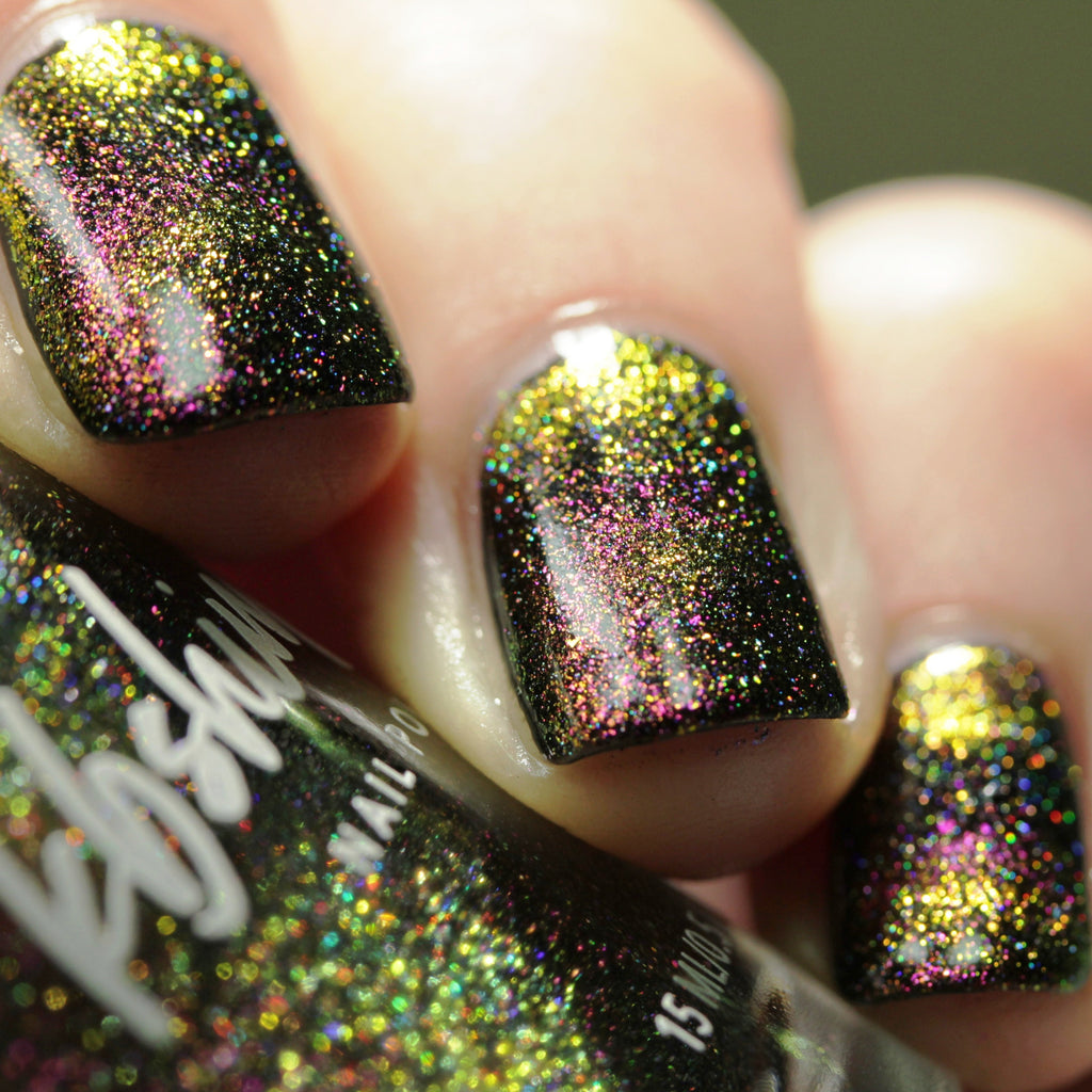 KBShimmer Sol Mate magnetic holographic nail polish Launch Party Trio 2019