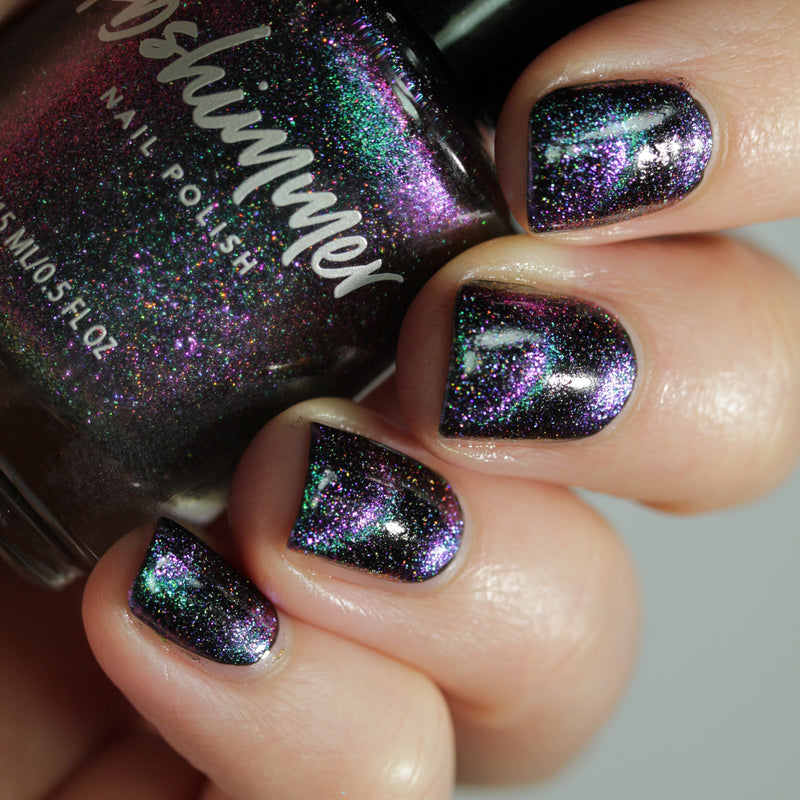 KBShimmer Universal Appeal magnetic holographic nail polish Launch Party Trio 2019