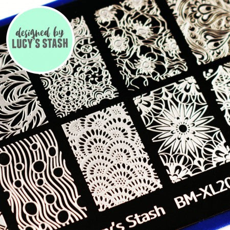 Blogger Collab x Lucy's Stash Stamping Plate