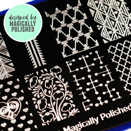 Blogger Collab x Magically Polished Stamping Plate