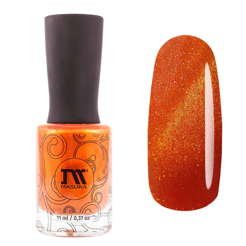Masura Mandarin Duck magnetic nail polish Blooming Garden Collection