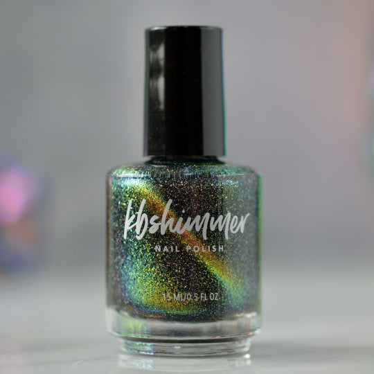 KBShimmer Moon On Over magnetic holographic nail polish Launch Party Trio 2019