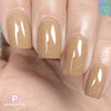 Picture Polish Castle sand yellow holographic nail polish swatch