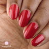 Picture Polish Double Decker red holographic nail polish MoYou London collaboration