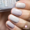 Picture Polish Innocence frosty white holographic nail polish swatch comparison