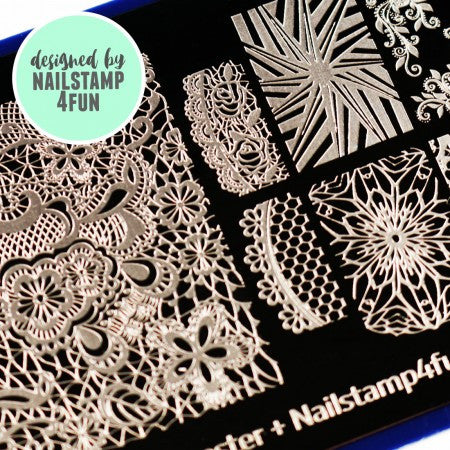 Blogger Collab x Nailstamp4fun Stamping Plate