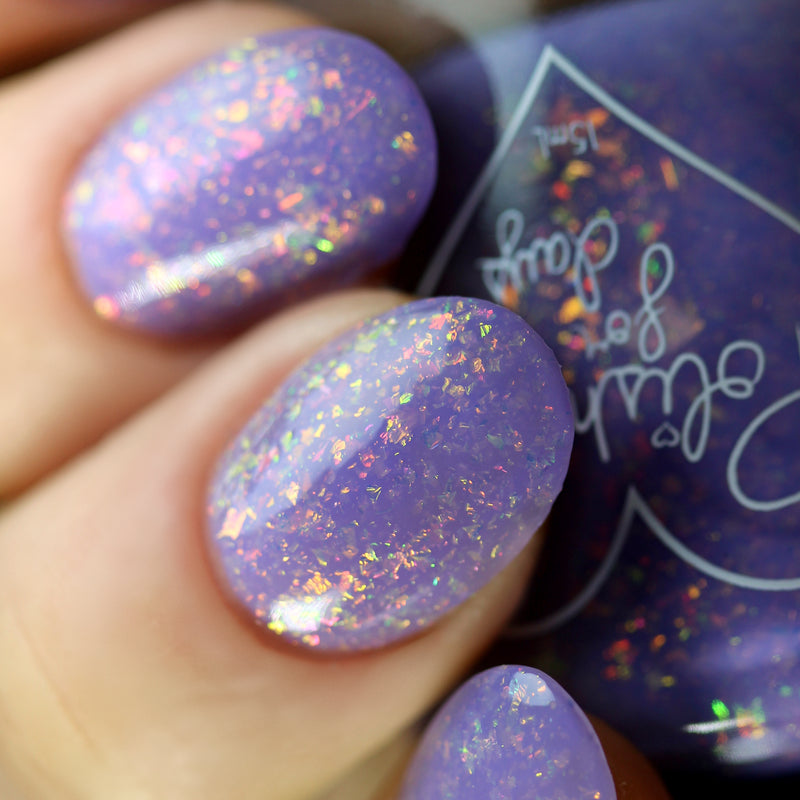 Polished for Days Colors of the Wind nail polish swatch Imagination Collection