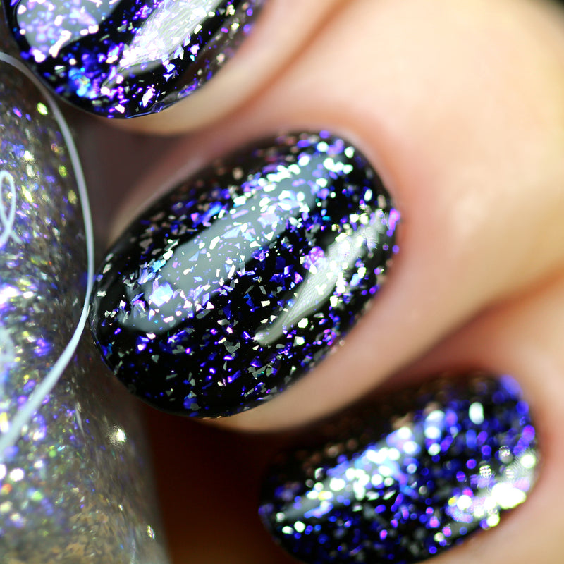 Polished for Days Frozen Heart nail polish topper swatch Imagination Collection