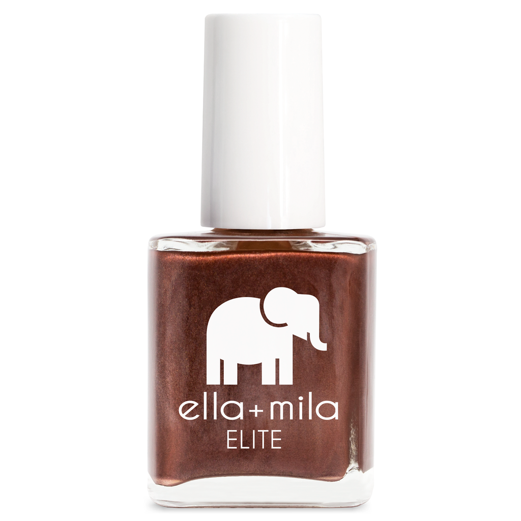 ella mila Rose-ay All Day nail polish