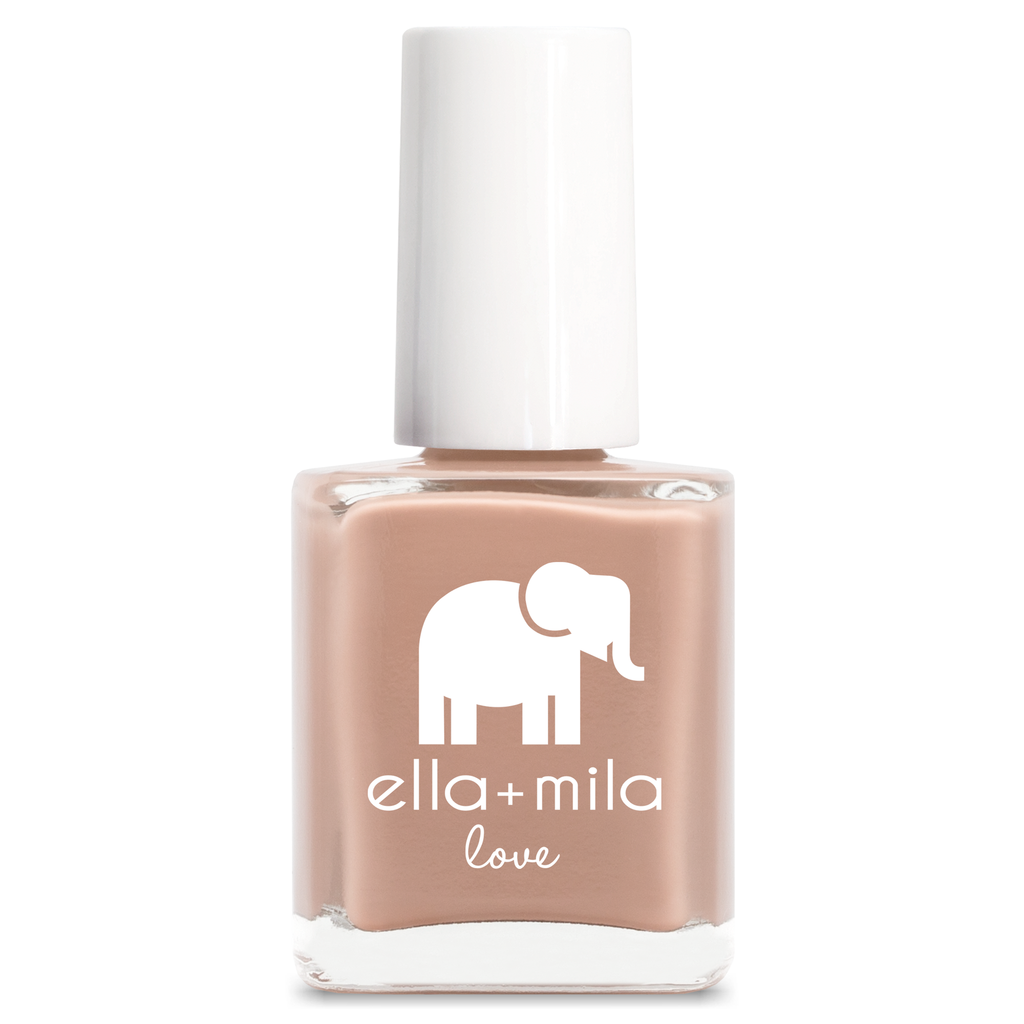ella mila Sandy Toes cream nail polish