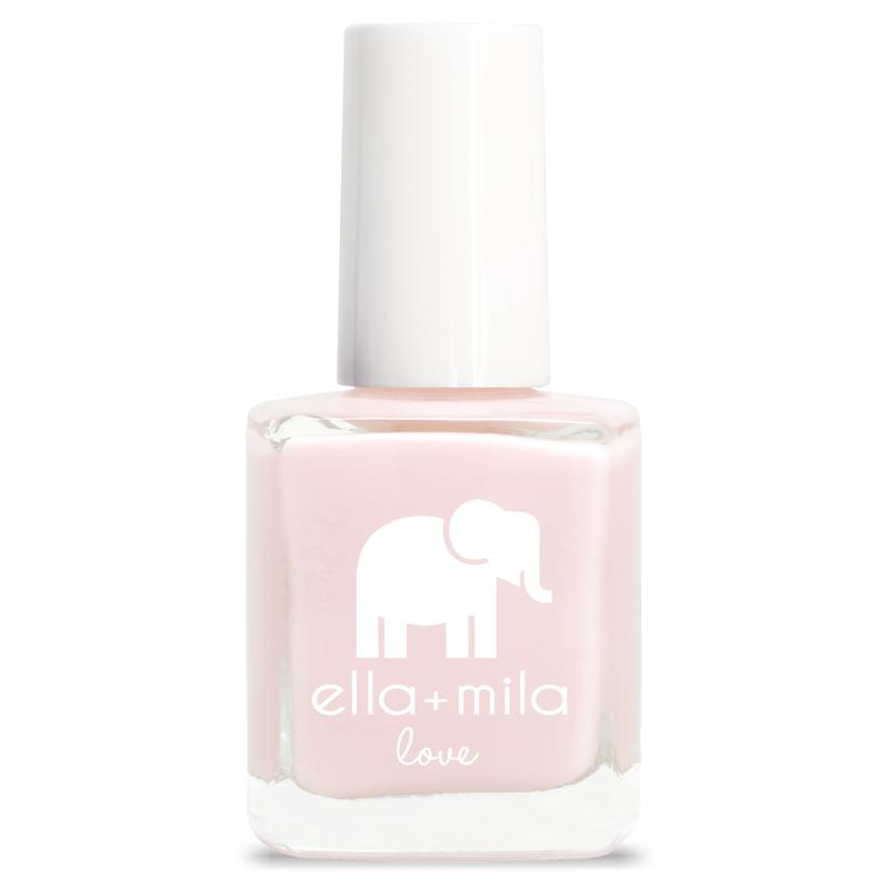 ella mila Stuck On You pink nail polish