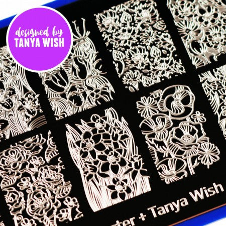 Blogger Collab x Tanya Wish Stamping Plate