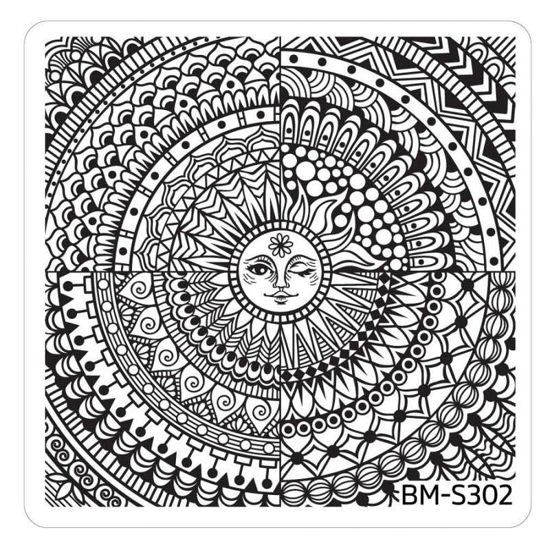 Festival Stamping Plate - Shiny, Happy
