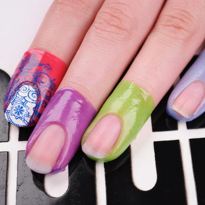 Latex-Free Cuticle Protecting Adhesive Nail Tapes