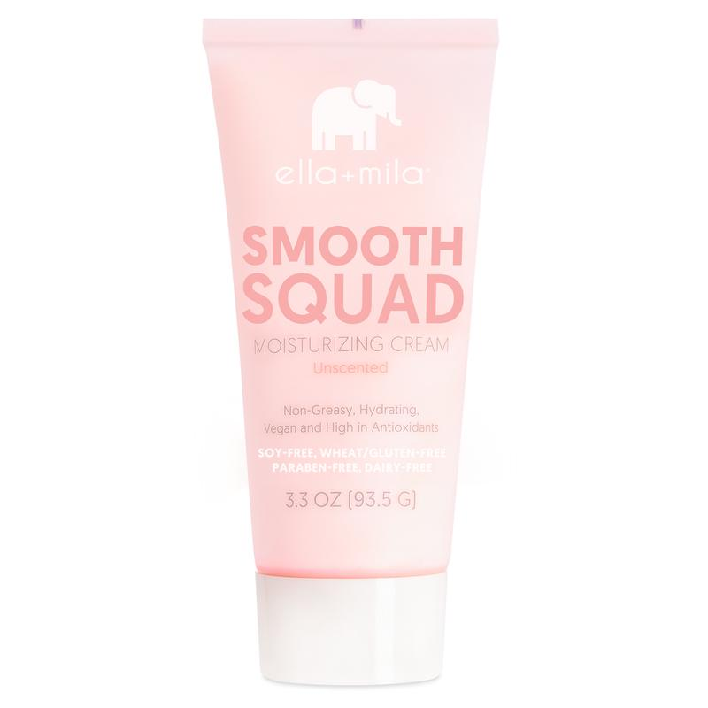 ella mila Smooth Squad Moisturizing Cream Unscented lotion
