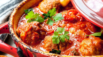 Chicken Meatballs with Spicy Pomodoro